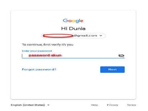 verifikasi 2 langkah gmail nomor hilang
