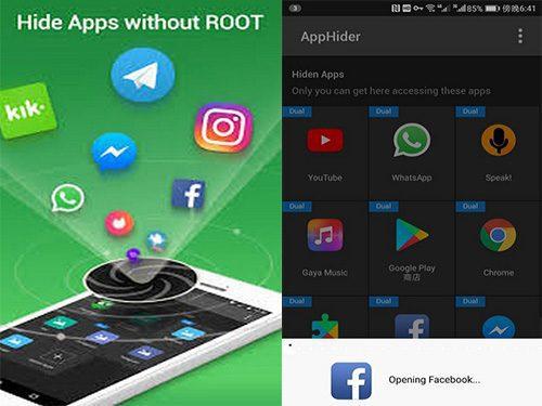 5 penyembunyi aplikasi android terbaik