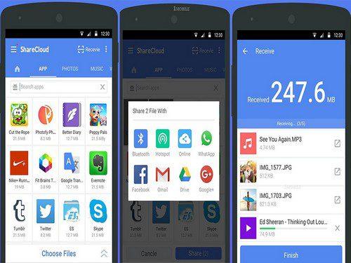 Cara Mengirim Aplikasi Lewat Bluetooth Dari Android