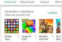 Perbarui Aplikasi Google Play Store