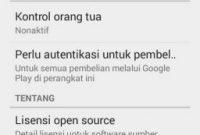 Perbarui Google Play Store