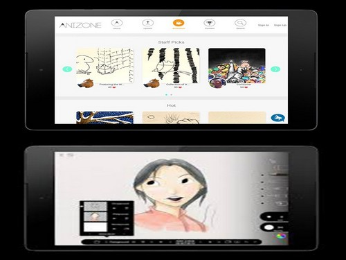 aplikasi pembuat animasi bergerak apk