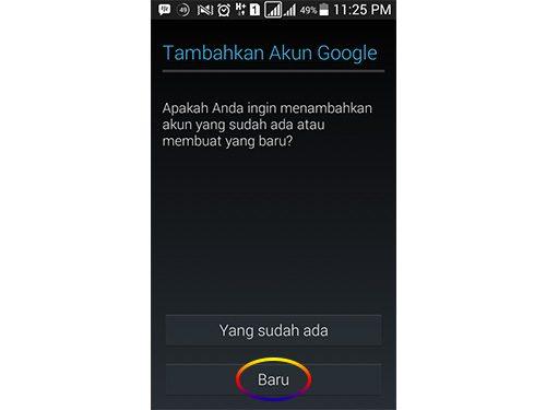 buat email lewat hp bahasa indonesia