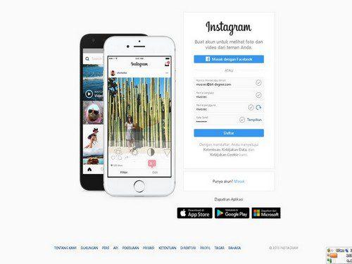 daftar instagram - Cara Menonaktifkan Instagram