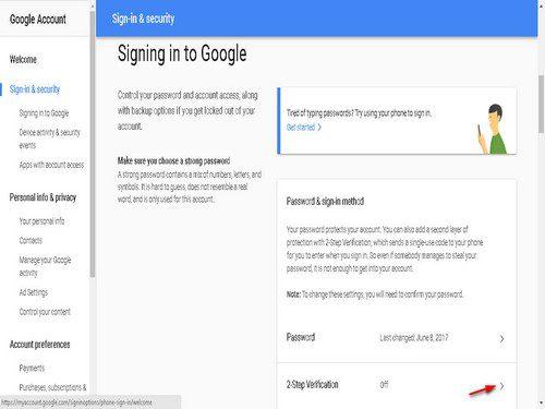 kode verifikasi akun google