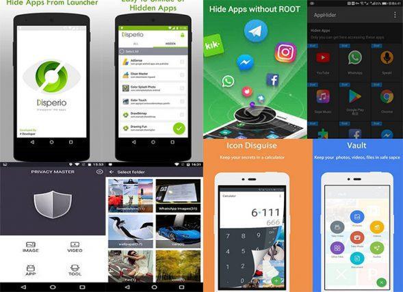 penyembunyi aplikasi android